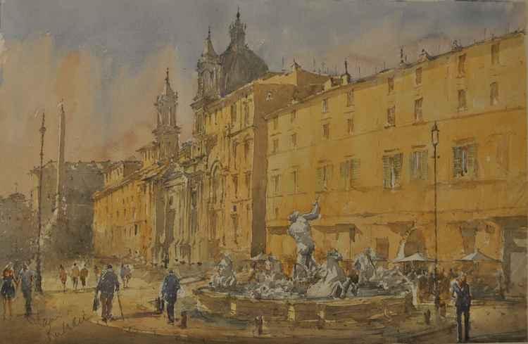 La Piazza Navona -