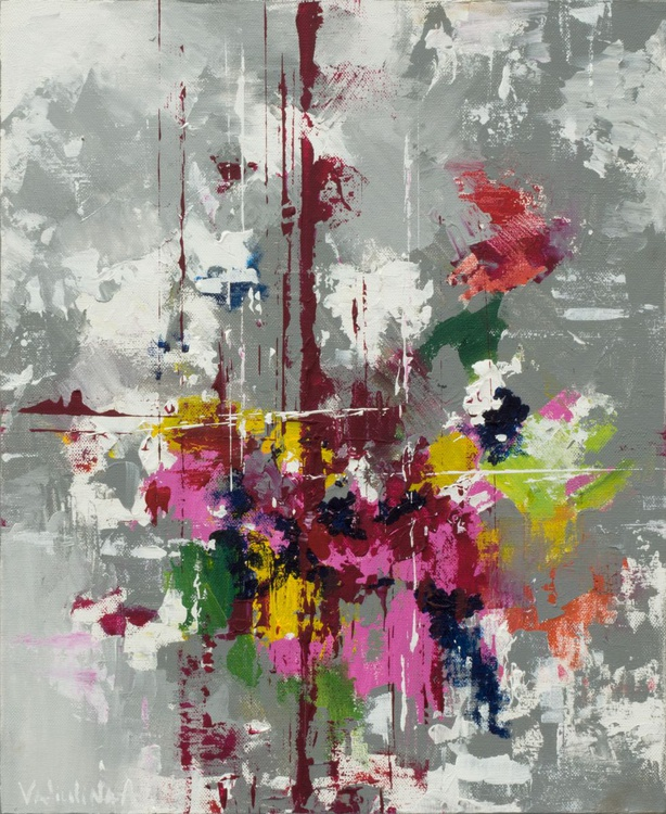 Original Abstract painting #1 - Image 0