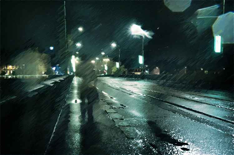 Stranger In The Night (Ltd Edition of only 20 Fine Art Giclee Prints from an original photograph)