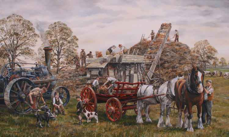 THRESHING -