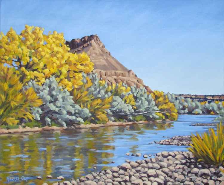 Rio Chama, Abiquiu, New Mexico -