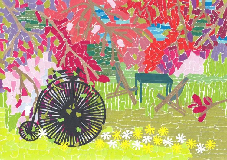 The Orchard and a Penny Farthing - Image 0