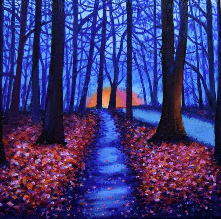 Colourfull Forest -