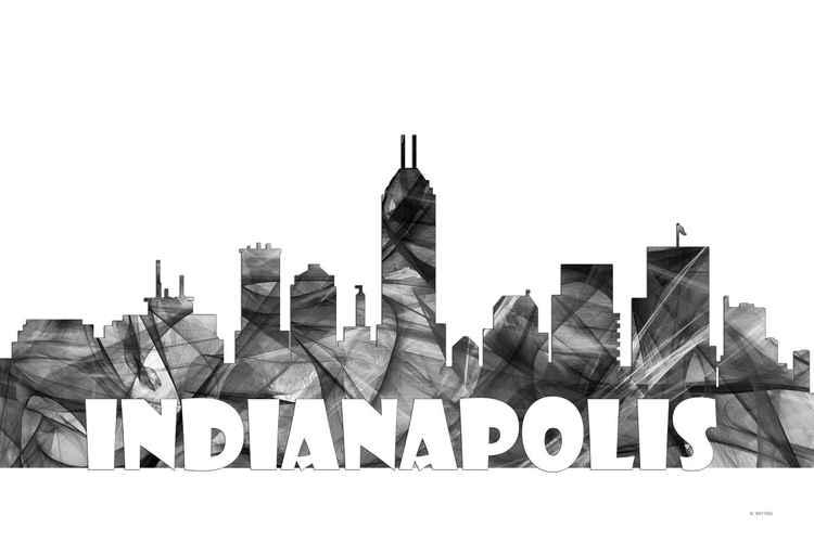 Indianapolis Skyline BG2