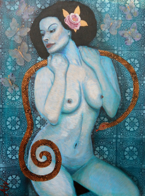 Snakes and butterflies - Image 0