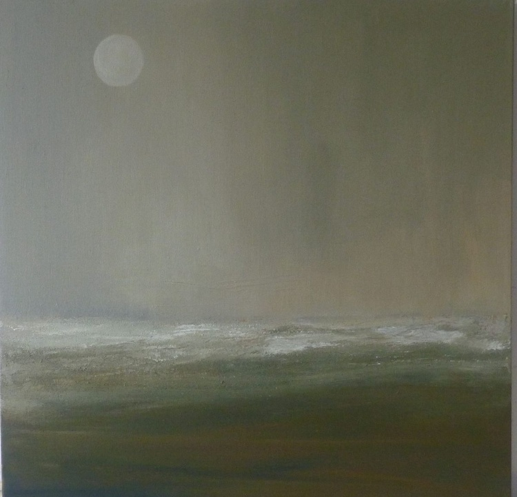 Estuary Waters by Moonlight - Image 0