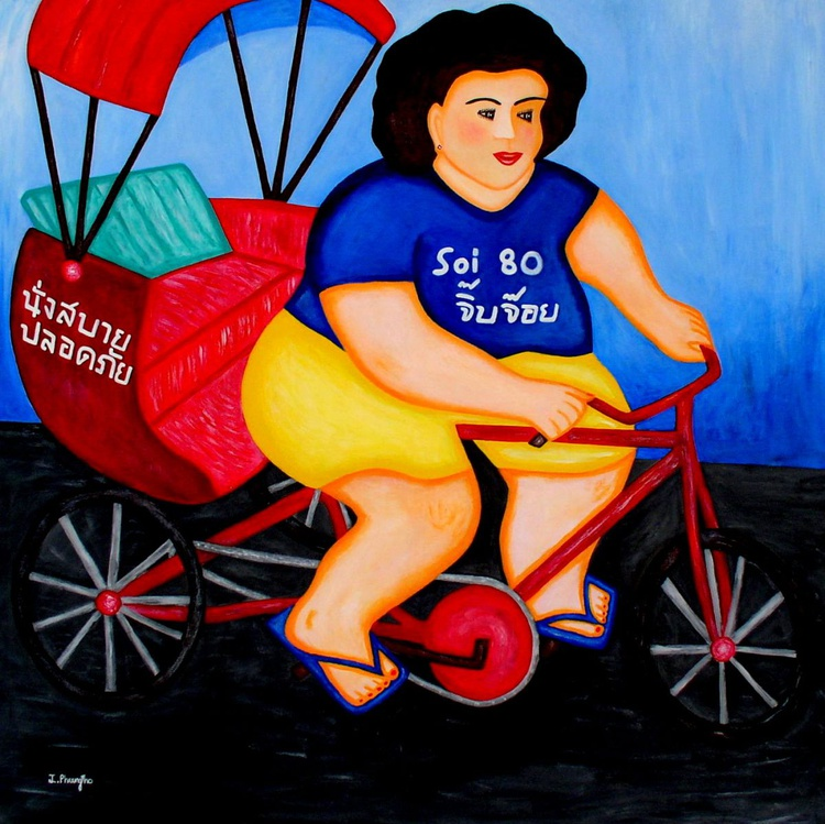 Taxi Lady - Image 0
