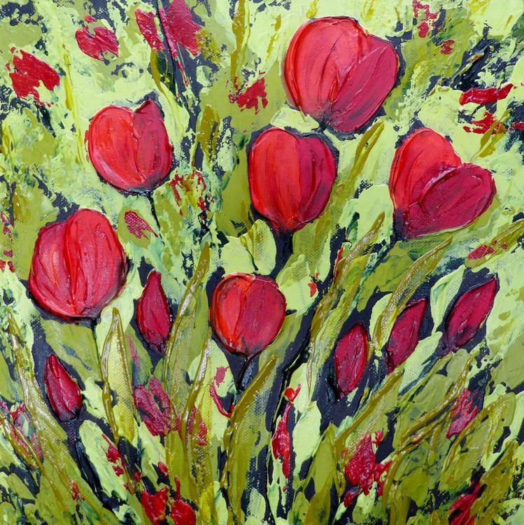 Textured Tulips - Image 0