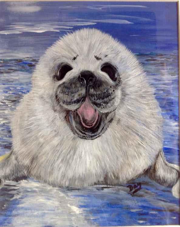 Happy seal -