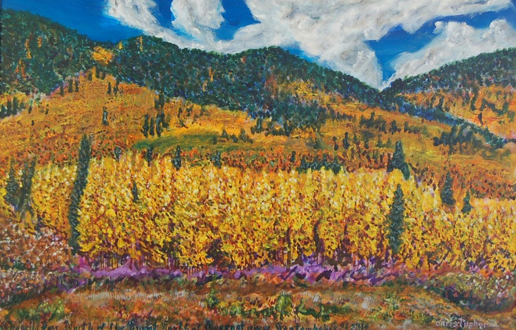 Guanella Pass, North of the Summit, South of Georgetown, Fall, 2014 - Image 0