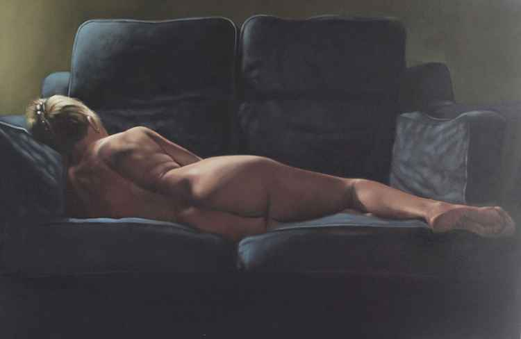 Reclining nude 2 -