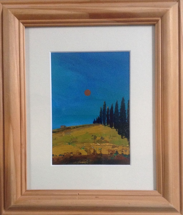 Under the Tuscan Sun ( framed original ) - Image 0