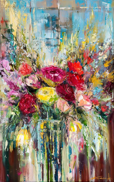 'Roses in the Window' - Image 0