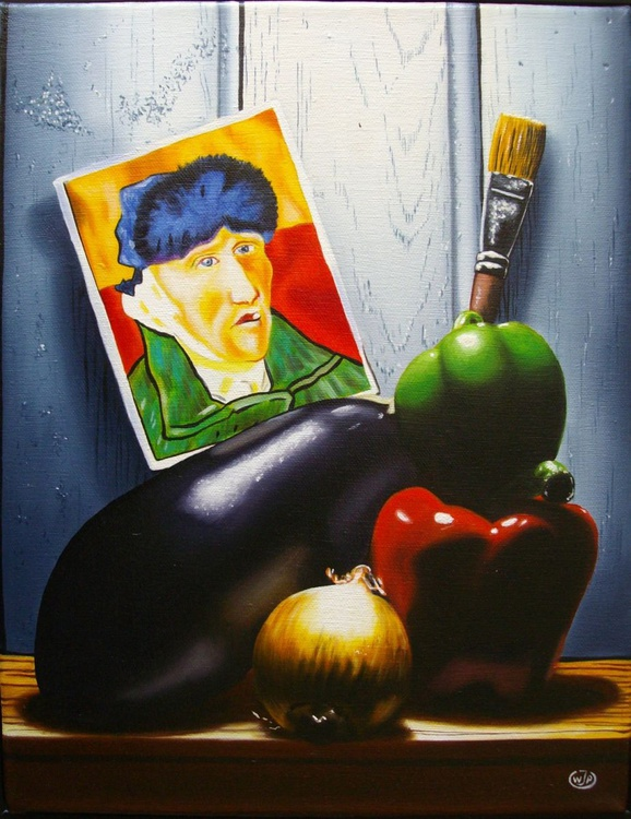 Ratatouille with Van Gogh / FREE Shipping - Image 0