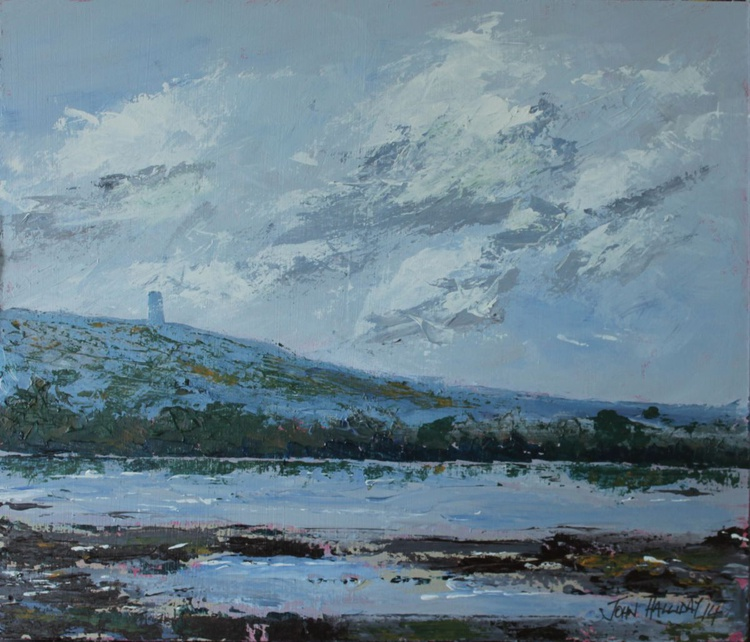 Scrabo from Strangford Lough. - Image 0