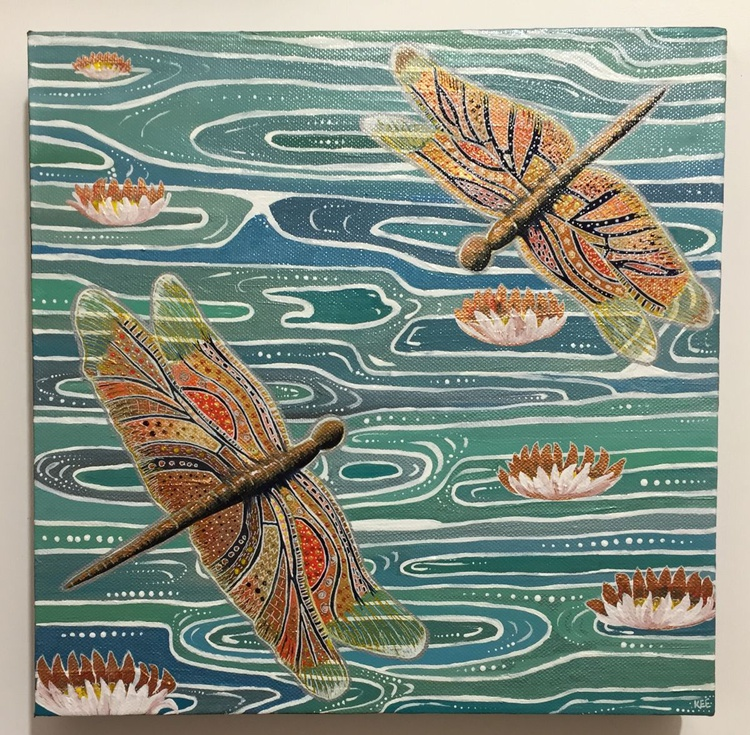 Autumn dragonflies - Image 0