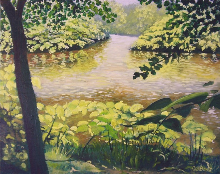 A walk in the shade along the river Kelvin - Image 0