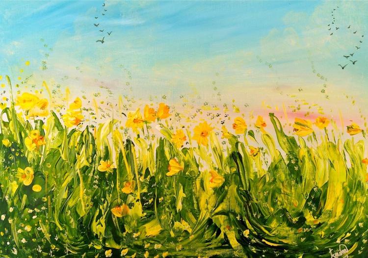 Blooming Daffodils at play ! - Image 0
