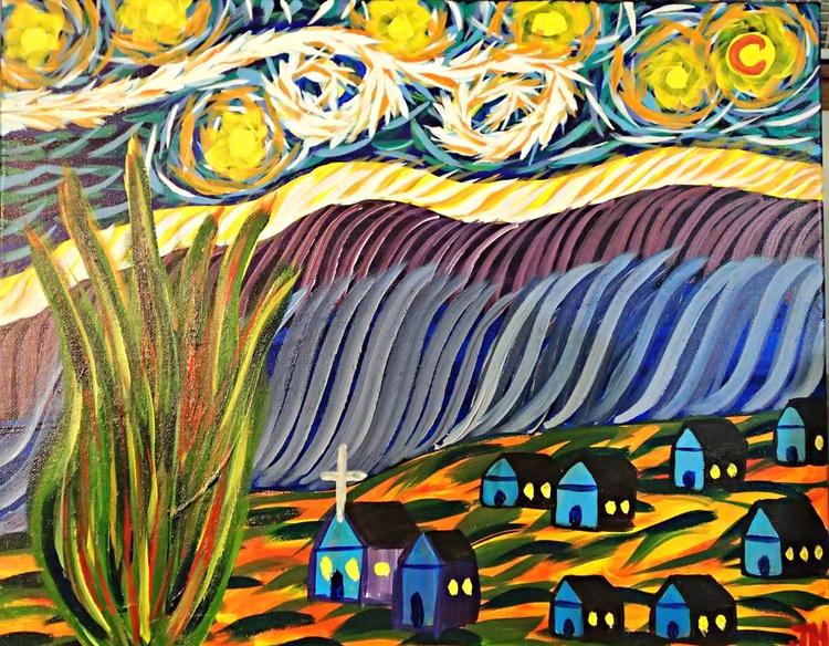 "Vincent Van Gogh's ""Starry Night"" - Image 0"
