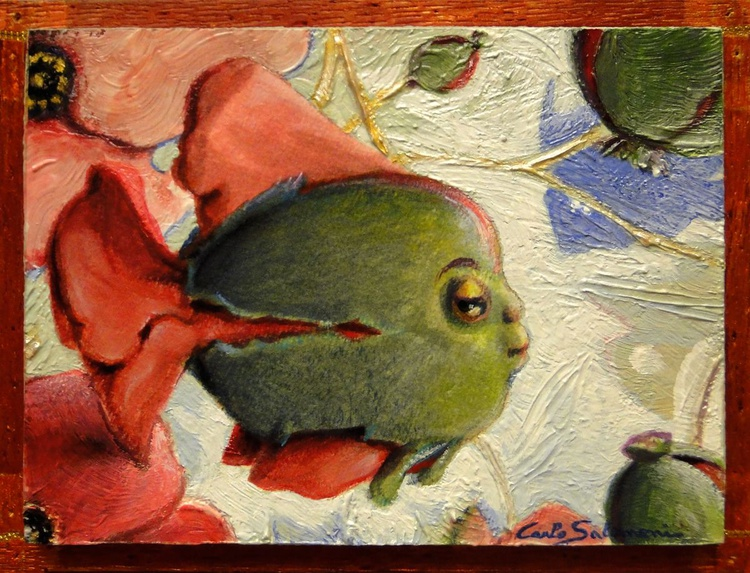 POPPY FISH - (framed) - Image 0