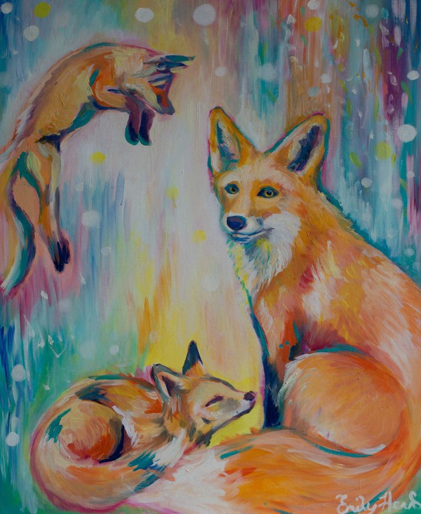 Psychedelic Foxes - Image 0