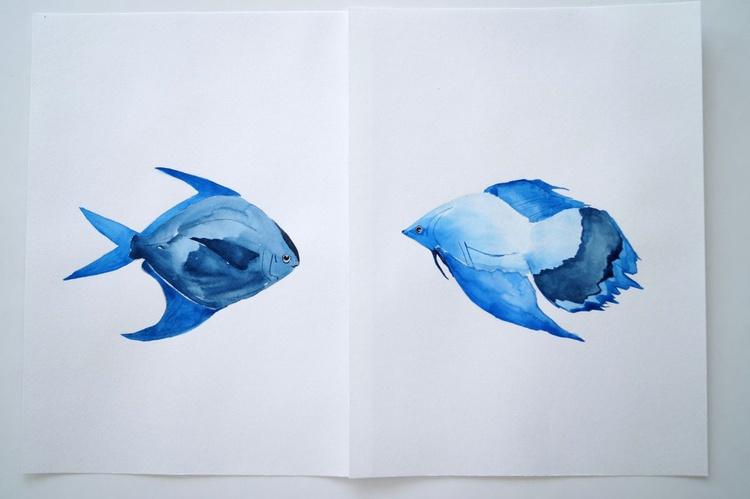 Blue Fish - Image 0