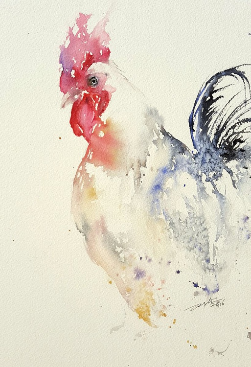 White Rooster_ Rob - Image 0