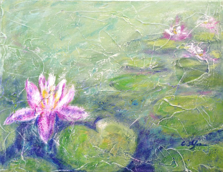 Pond with Water Lily - Image 0