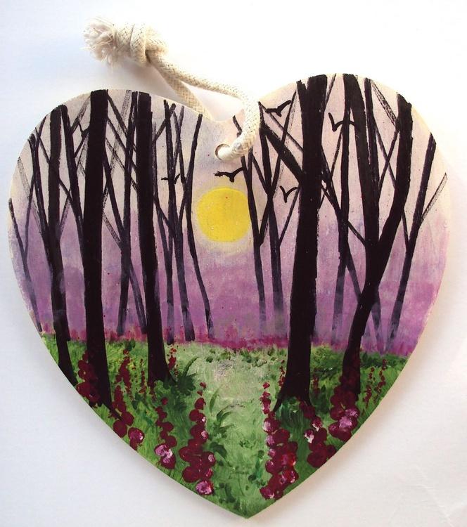 Foxgloves heart - Image 0