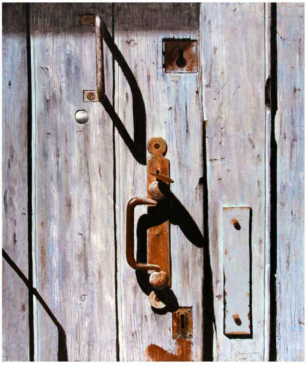 LATCH DOOR