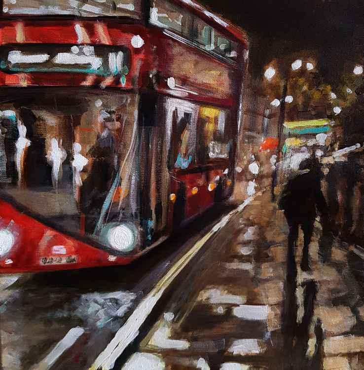 London Shaftesbury Avenue Night