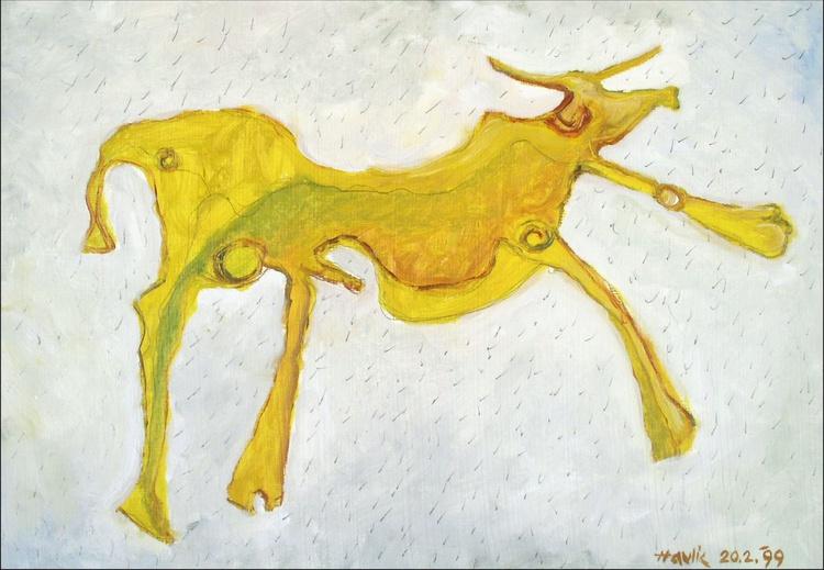 Yellow Bull - Image 0