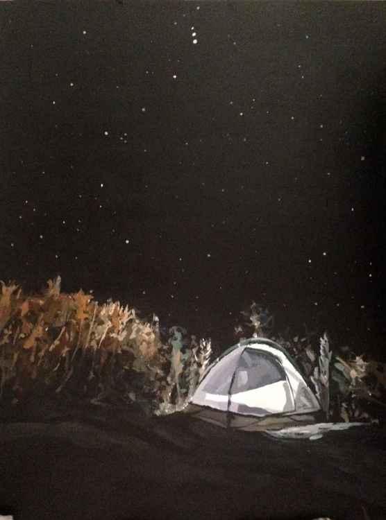 under the stars -