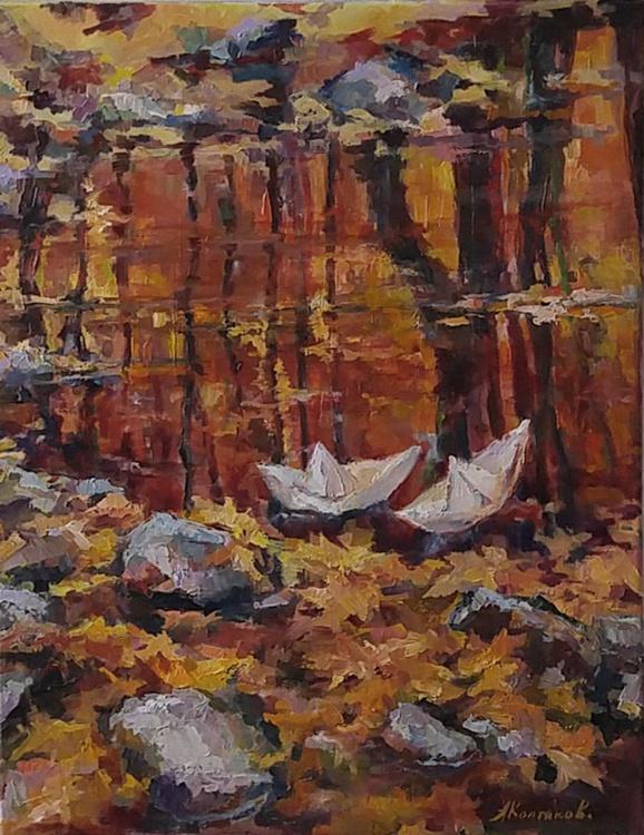 Autumn boats 2 - Rendez-Vous - Image 0