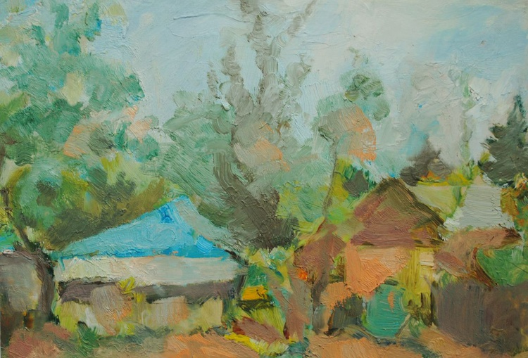 Countryside sketch - Image 0