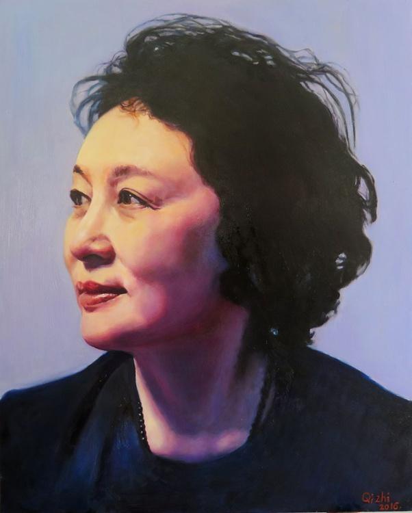Commission Portrait of Miss Zhong - Image 0
