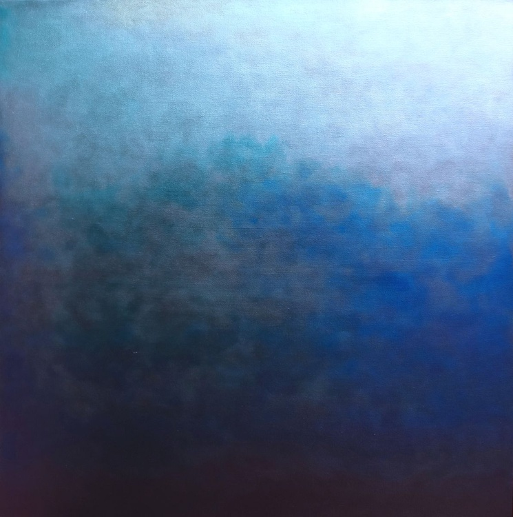 Dark Ethereal Turquoise Square - Image 0