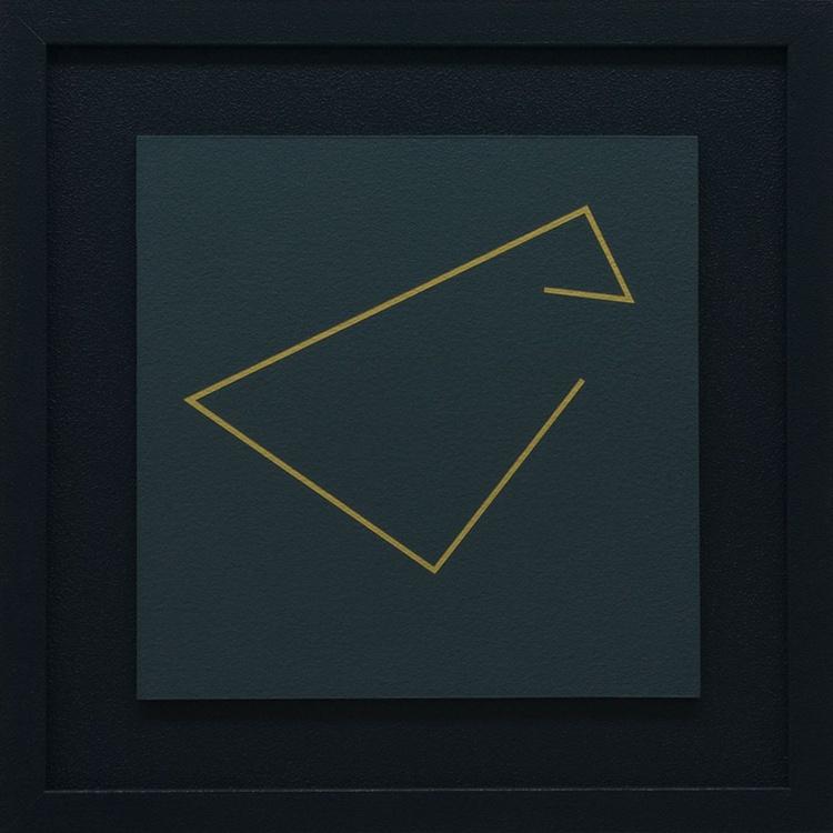 """MEDITATIVE ANGULATIONS"" #2 - FRAMED Modern Geometric Painting - Image 0"