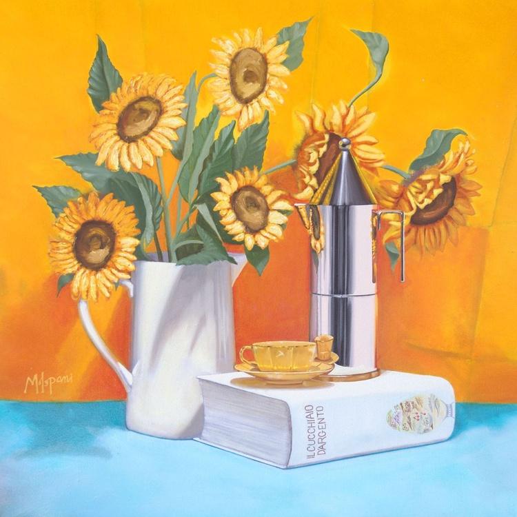 Sunflowers, coffee & an Italian classic - Image 0
