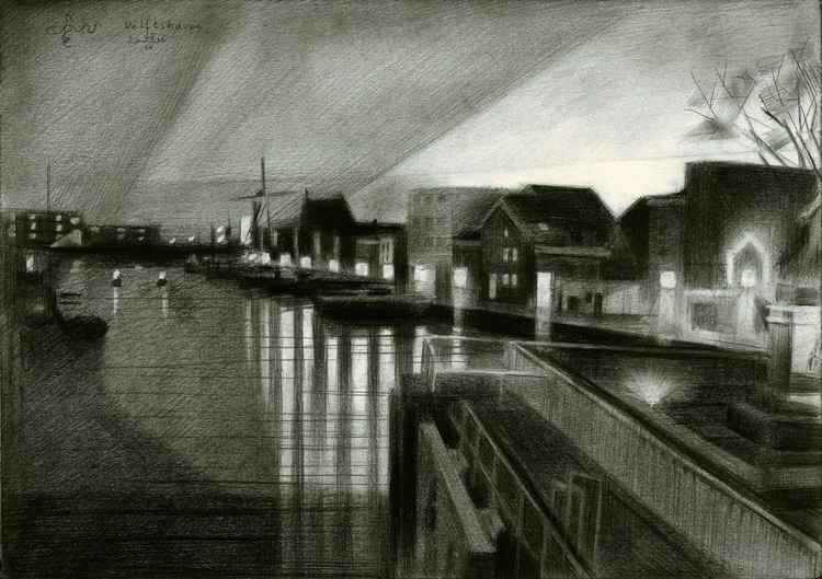 Rotterdam - Delftshaven - 08-03-16 (sold) -