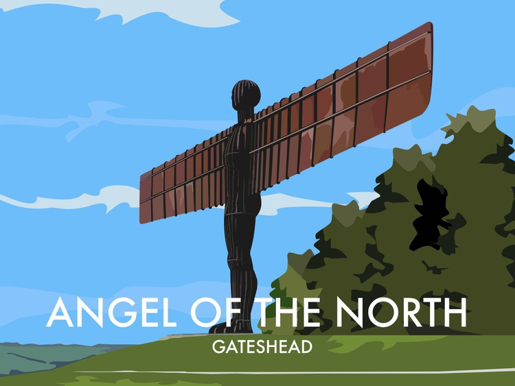 Angel Of The North, Gatehead - Image 0