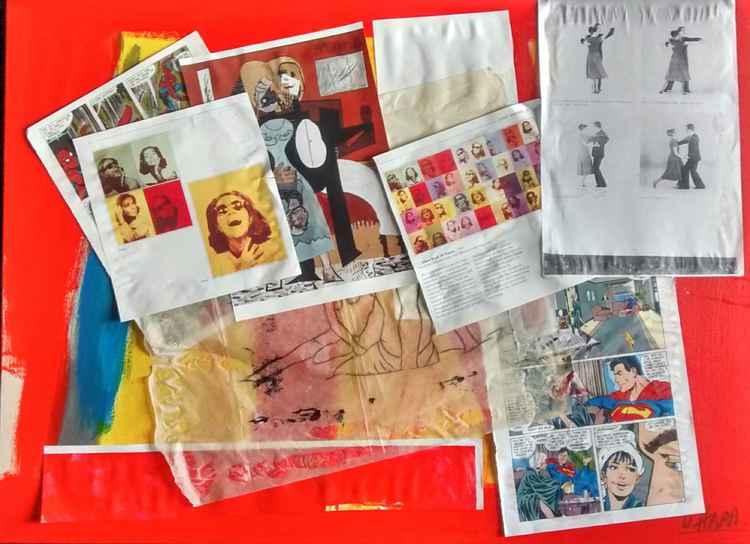 Pop Art collage.