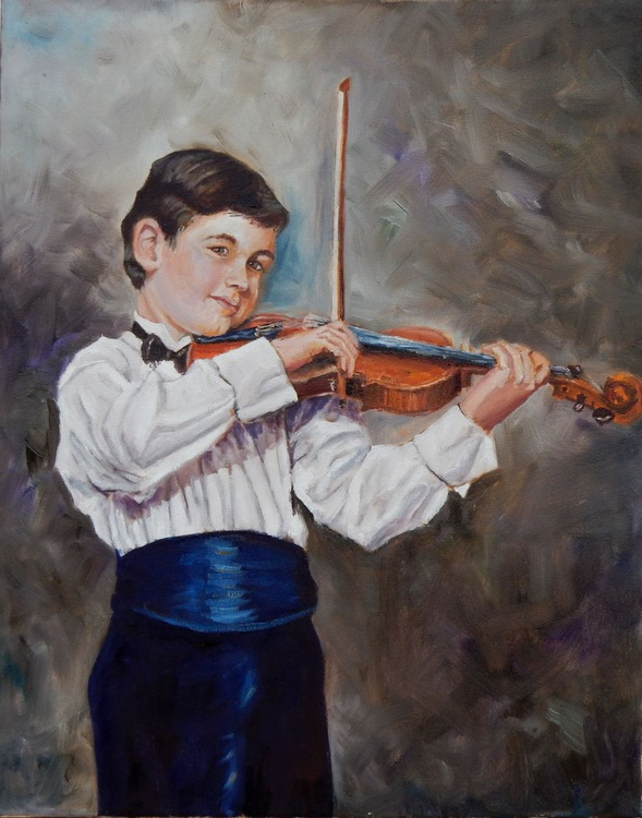 Young violinist - Image 0