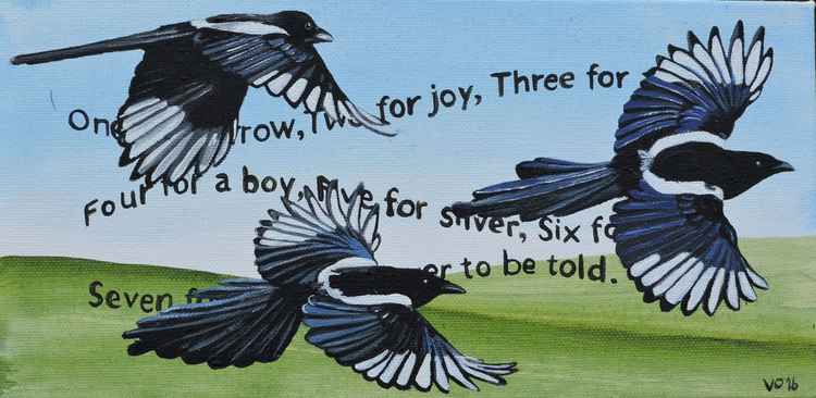 The Magpie Rhyme. -