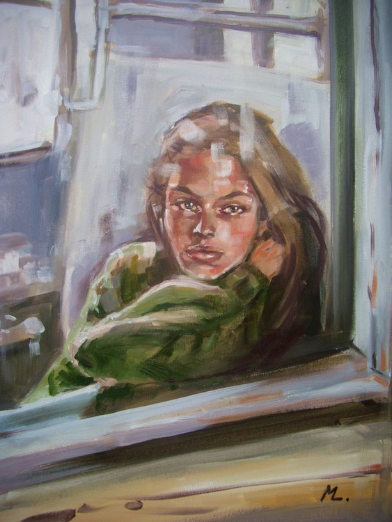 """ The way to somewhere ""  GIFT MODERN URBAN ART OFFICE ART DECOR HOME DECOR GIFT IDEA - Image 0"