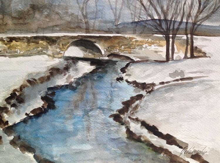 Winter creek - Image 0
