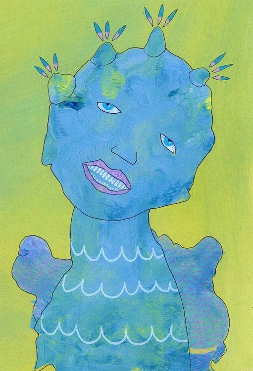 Angel Feeling Blue - Image 0