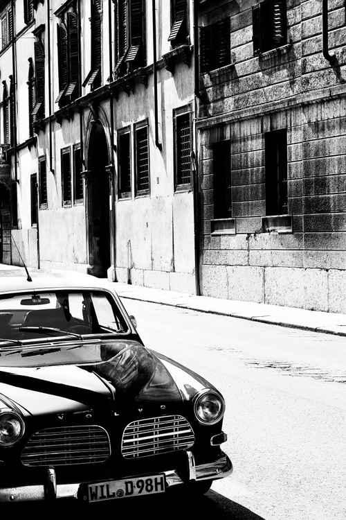 The Volvo -