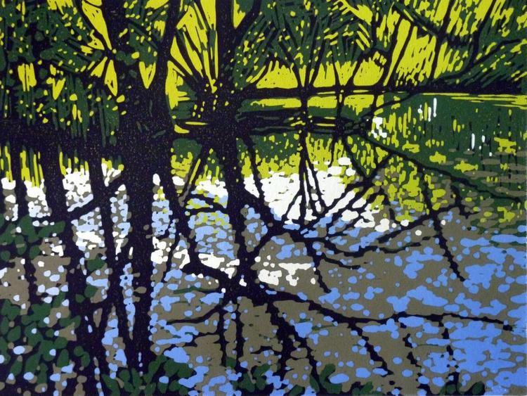 Poolside Trees - Image 0