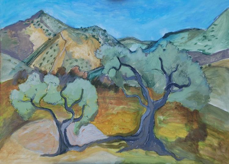 Olive trees at Orgiva - Image 0